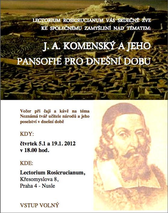 J.A. Komenský a jeho pansofie pro dnešní dobu