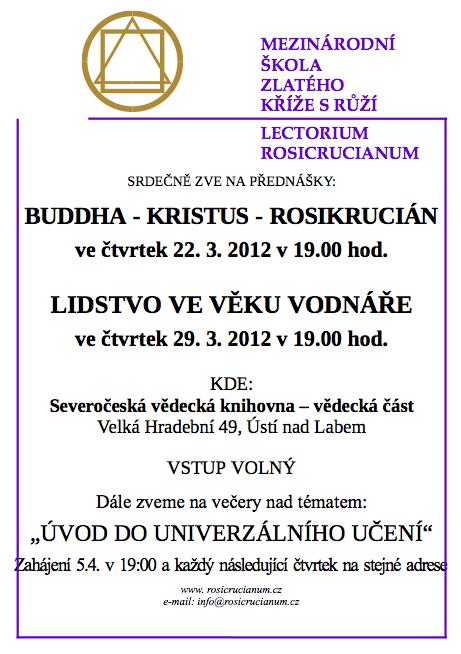 Buddha, Kristus, Rosikrucián