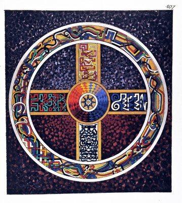 mandala malovaná Jungem (2)